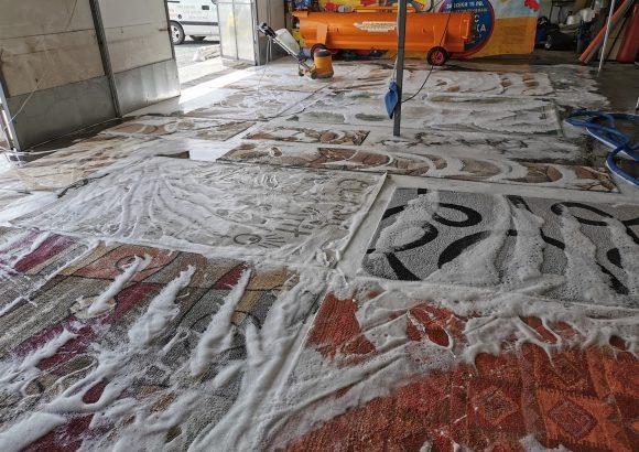 Пране на килими, пътеки, губери и завивки